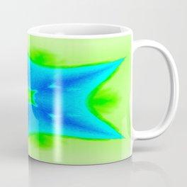 Star Bright Blue & Green Coffee Mug