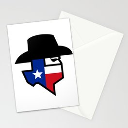 Bandit Texas Flag Icon Stationery Cards