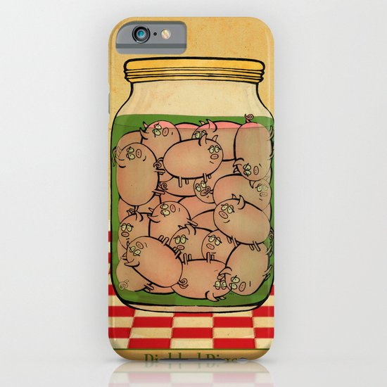 Pickled Pig Revisited iPhone & iPod Case
