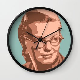 Shirley Jackson Wall Clock