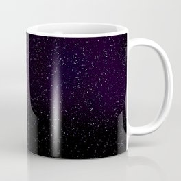 Spatial Starlight Purple Coffee Mug