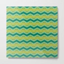 Grass Wave Metal Print