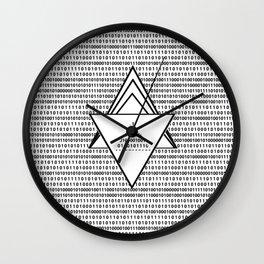 Binary code Wall Clock