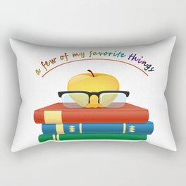 a few of my favorite things t shirt Rectangular Pillow