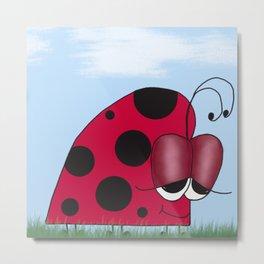 The Euphoric Ladybug Metal Print