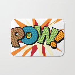 Comic Book Pop Art Sans POW! Bath Mat