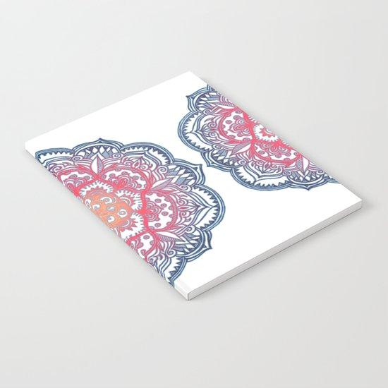 Radiant Medallion Doodle Notebook