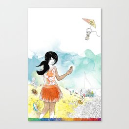 you're COLOR - Page 3 Canvas Print