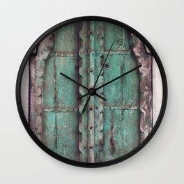 Doors Of Rajasthan Wall Clock