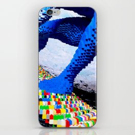 Leggo surfing! iPhone Skin