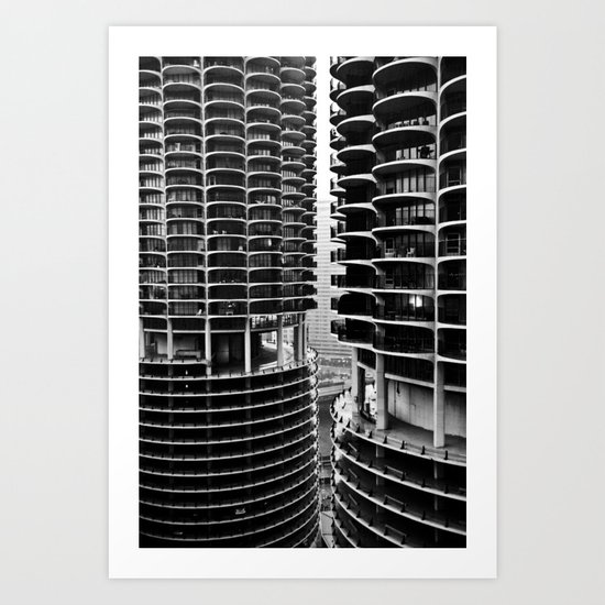 Bertrand's Buildings Art Print