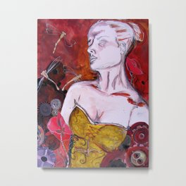 Mechanical Dreams Metal Print