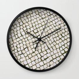 Calçada Portuguesa Wall Clock