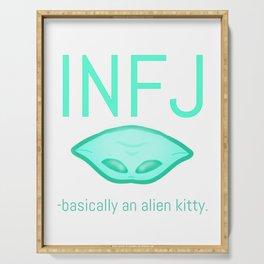 INFJ Alien Serving Tray