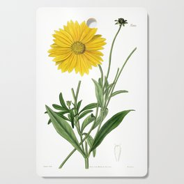 Spear-Leaved Coreopsis / Curtis 1857 Cutting Board