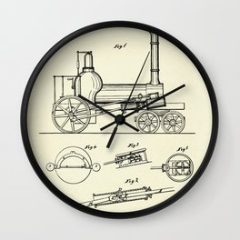 Locomotive-1837 Wall Clock