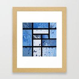 Movin with Pollock, Mondrian & Haring  Framed Art Print