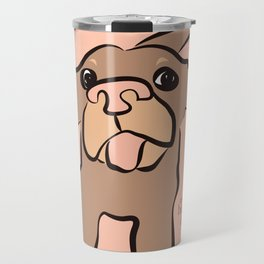 Ellie Mellie - soft pink Travel Mug