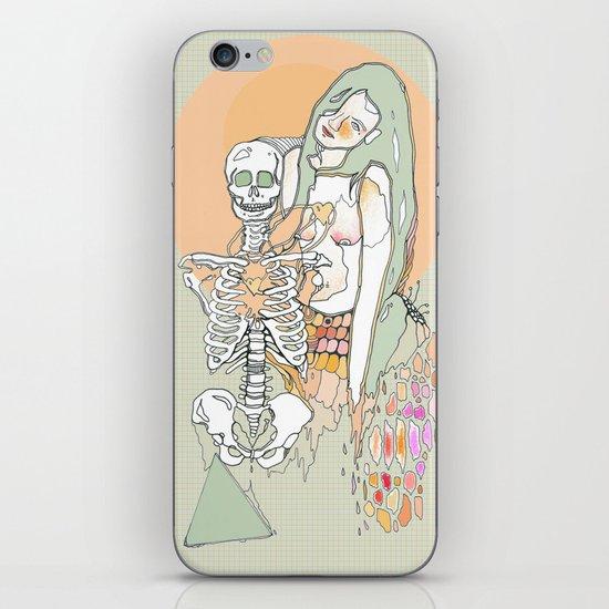 life & death iPhone & iPod Skin