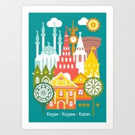 Kazan Art Print