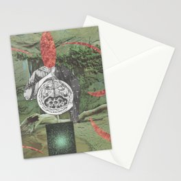 Chaos of Primal States Stationery Cards