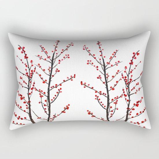 red beans branch Rectangular Pillow