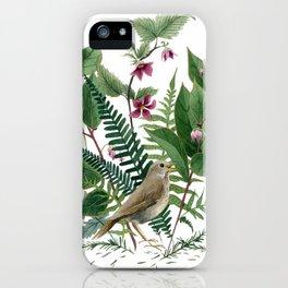 Woodland Birdsong iPhone Case