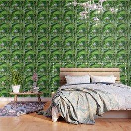 Green Gazebo Wallpaper