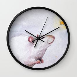 Wishing on a star Wall Clock