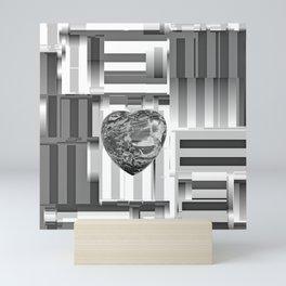 Jasper Heart in Vacancy Mini Art Print