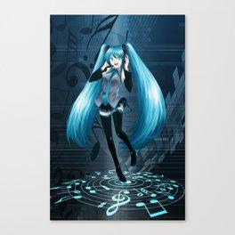 Vocaloid Hatsune Miku Canvas Print