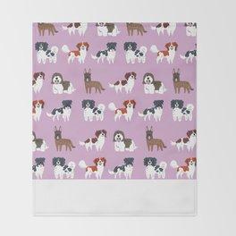 DUTCH DOGS Throw Blanket