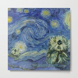 Starry Monterey Night (for Mikaela) Metal Print