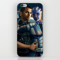 Mass Effect - Always here for you. iPhone & iPod Skin