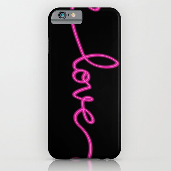 Neon Love iPhone & iPod Case