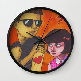 Jennifer, We Can't Go Wrong Wall Clock