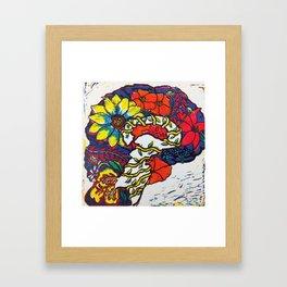 A Fertile Brain Framed Art Print