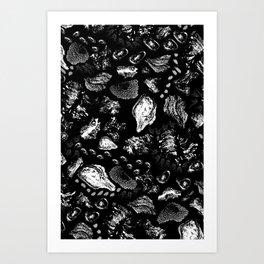 Tree Knots Art Print