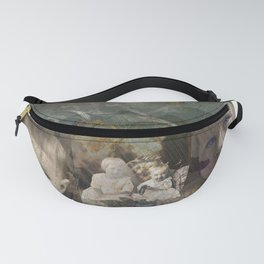 Baby Blue Eyes Fanny Pack
