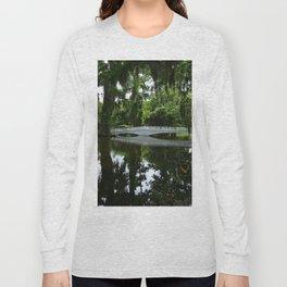 White Bridge On Magnolia Plantation Long Sleeve T-shirt