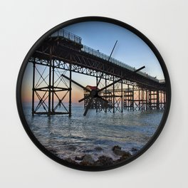 The Boathouse on the Pier. Wall Clock
