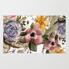 Floral crush Rug