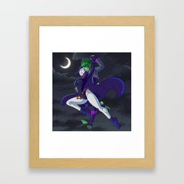 A Midnight Fly Framed Art Print