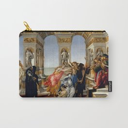 """Sandro Botticelli """"The Calumny of Apelles"""" Carry-All Pouch"""