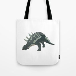 Ankylosaurus Dinosaur Tote Bag