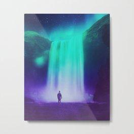Aurora Falls Metal Print