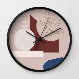 Free Flow Wall Clock