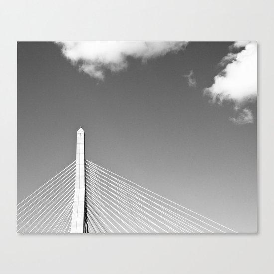 Zakim Bridge Boston Canvas Print