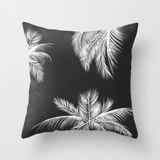 Palm Trees Throw Pillow