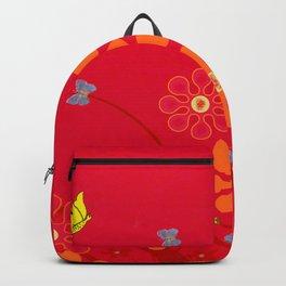 Butterflies & blooms Backpack